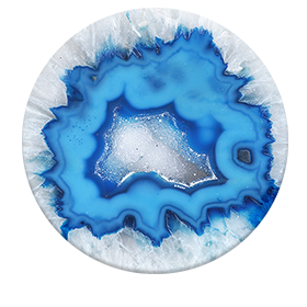 PopSocket - Ice Blue Agate