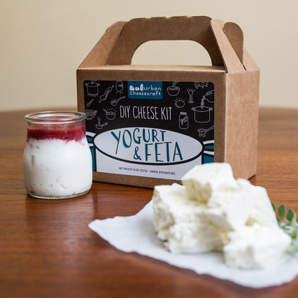 Cheese Kit - Feta, Greek Yogurt, & Yogurt Cream Cheese