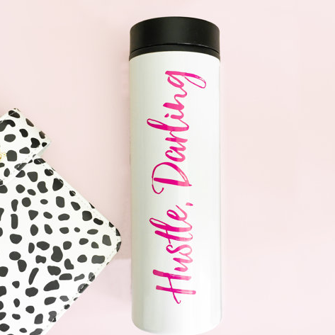 Travel Mug - Hustle Darling