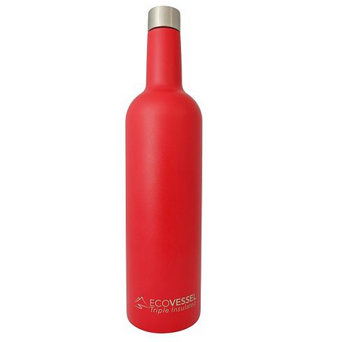 VINE - Insulated Wine Bottle - Red