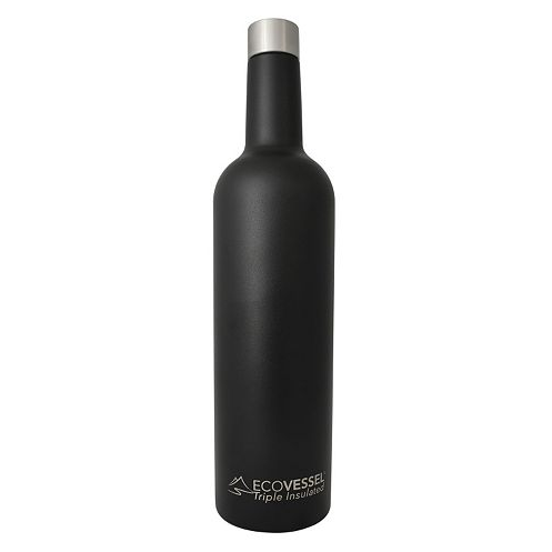 VINE - Insulated Wine Bottle - Black