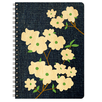 Journal - Denim Dogwood