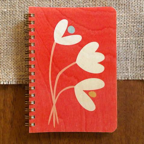 Notebook - Tulips