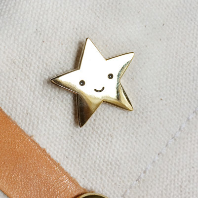Enamel Pin - Gold Star