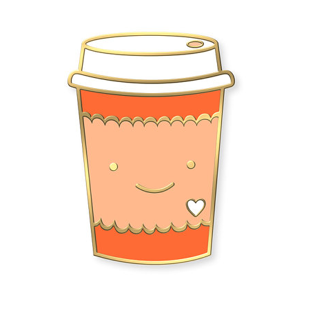 Enamel Pin - Coffee Lover