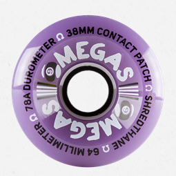 Wheels - Omega - 64mm 78a - Purple