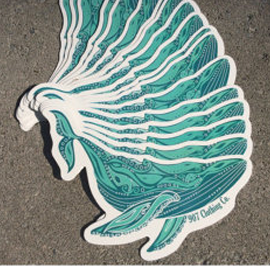Sticker - Humpback Whale Vinyl