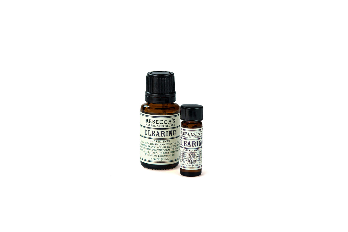 Clearing Essential Oil Blend