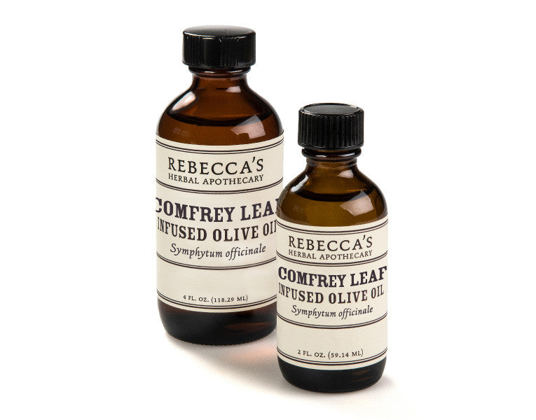 Comfrey Leaf Infused Olive Oil