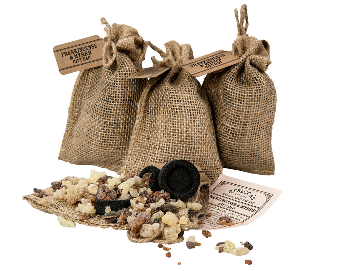 Frankincense & Myrrh Holiday Gift Bags