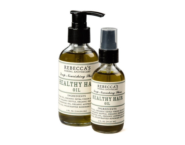 Healthy Hair Oil Rebecca S Herbal Apothecary