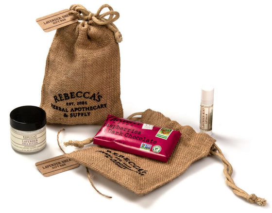 Mini Lavender Shea Gift Bag