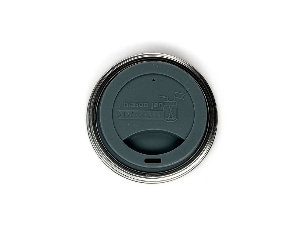 Silicone Drinking Lid - Wide Mouth