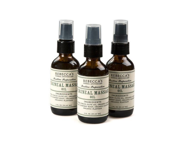 Perineal Massage Oil - Rebeccas Herbal Apothecary-9992