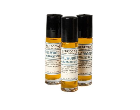 Sandalwood Rose Aromatic Oil