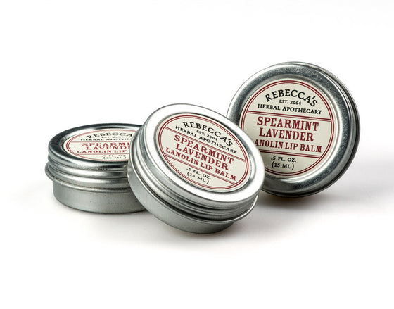 Spearmint Lavender Lanolin Lip Balm