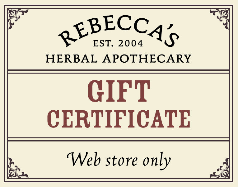 Gift Certificate <b>(Redeemable Online Only)</b>