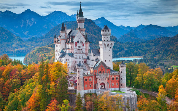 The Winter Vacation Routes That Will Make You Feel Like A King: Europes 10 Most Beautiful Castles