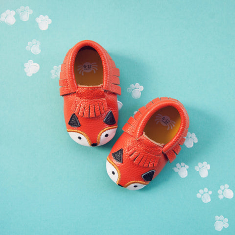 fox baby moccs