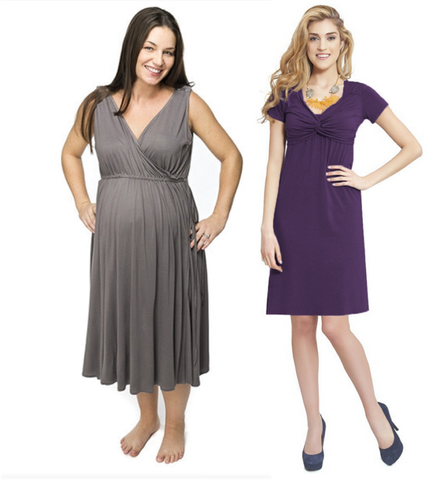 Maternity Nursing Dresses Breastfeeding Dress Milk And Baby