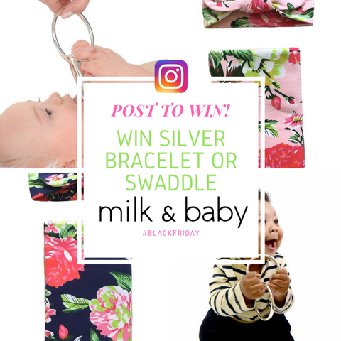 Black Friday Raffle Contest for Moms and New Babies milk & baby