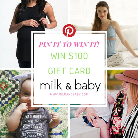 Win $100 gift card to milk & baby