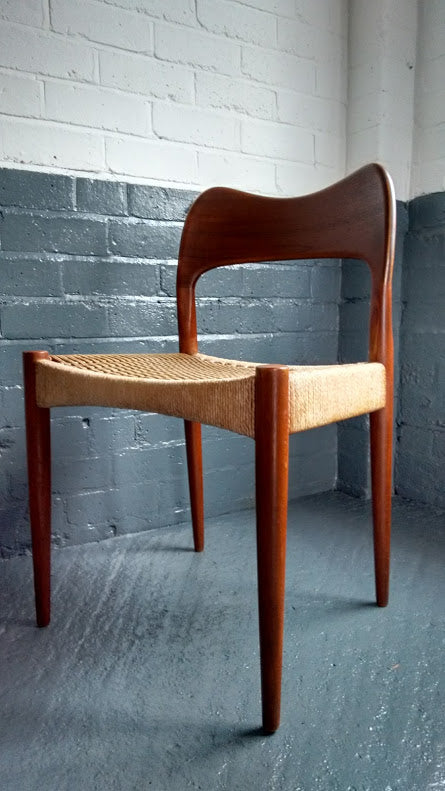 Beautiful Danish Chair By Arne Hovmand Olsen For Mogens Kold