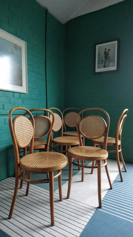Set Of 6 Bentwood Cafe Chairs (2 of 2)