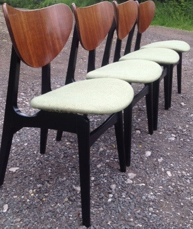 Lovely Set of 4 G-Plan Butterfly Chairs
