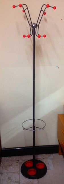 Atomic Style Coat Rack & Umbrella Stand