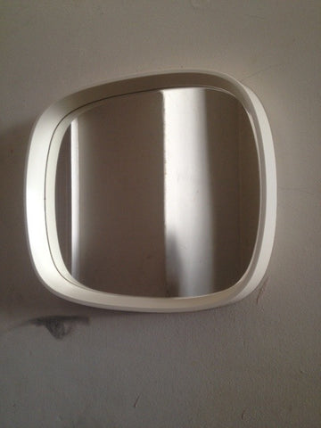 Danish TV-Shaped Wall Mirror