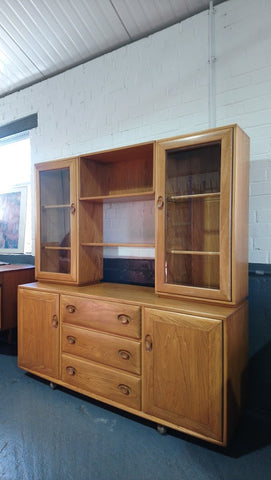 Ercol Windsor Long Dresser In Golden Dawn Finish