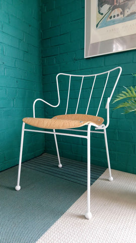 Iconic Mid-century Antelope Chair by Ernest Race for The Festival Of Britain