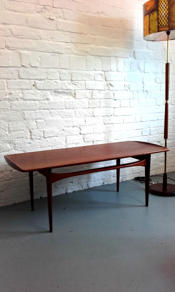 Beautiful FD-503 Coffee Table in Teak by Tove & Edvard Kindt-Larsen for France & Son