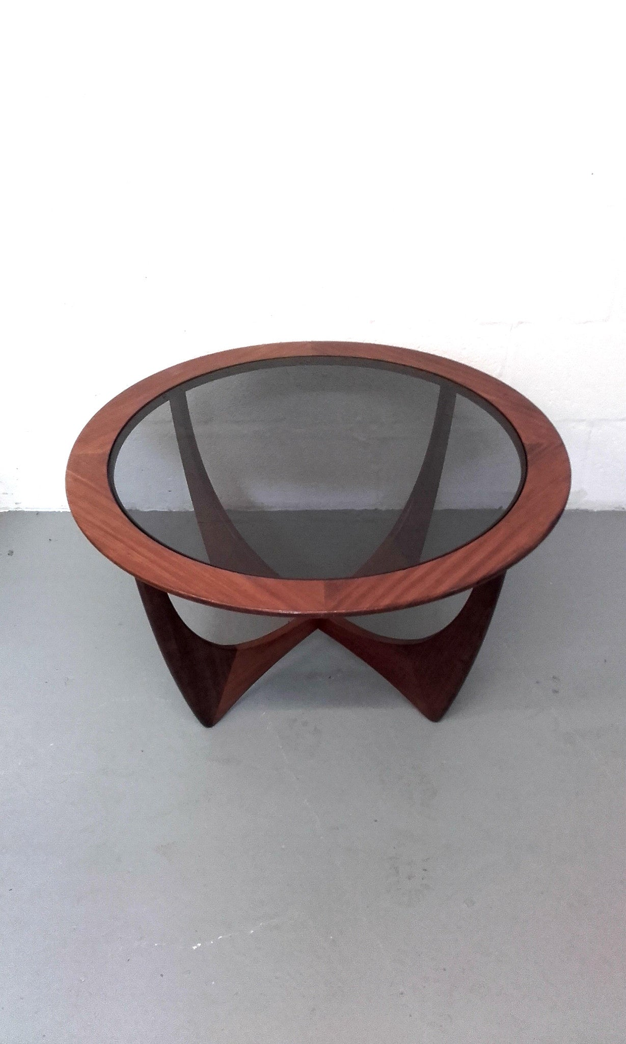 Iconic g plan astro teak and smoked glass coffee table whittaker iconic g plan astro teak and smoked glass coffee table geotapseo Images