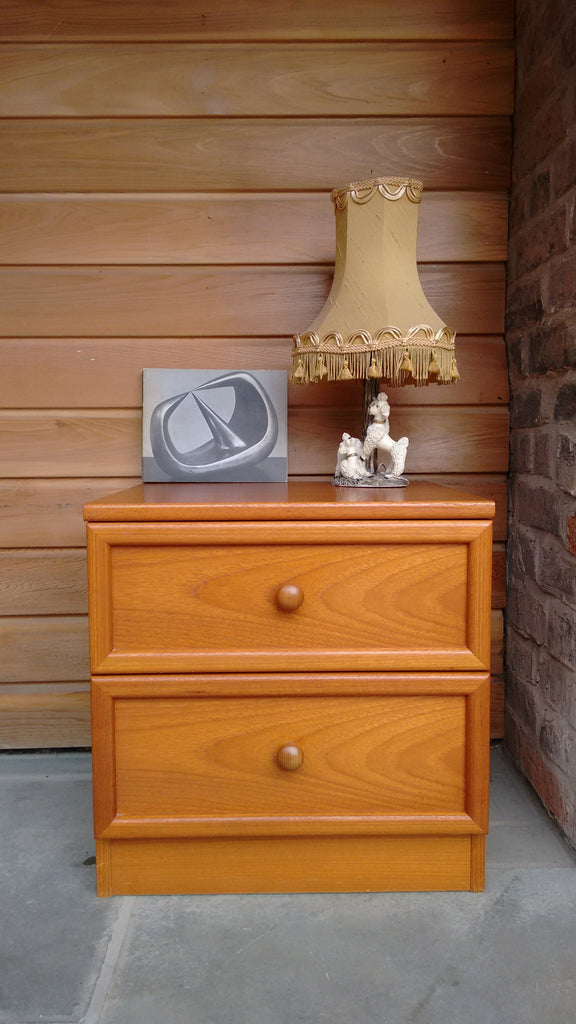 Pair Of Matching G-Plan Bedside Cabinets