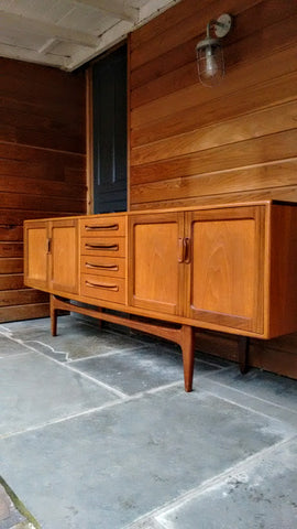 Lovely 7ft G-Plan Fresco Sideboard