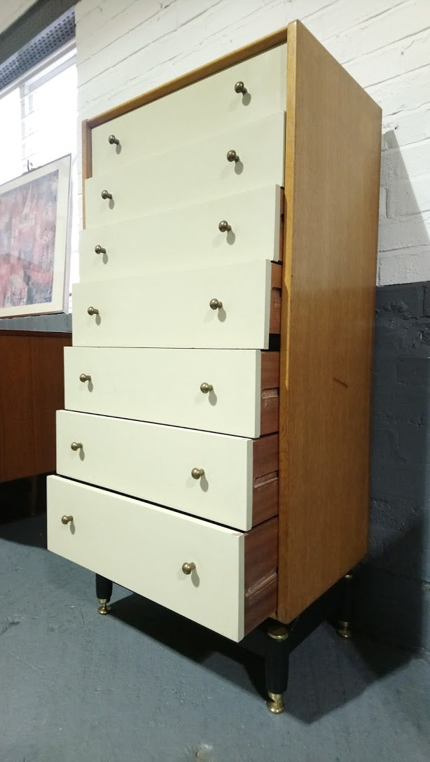 chest pinto dresser ercol tall wide drawer heal discontinued s