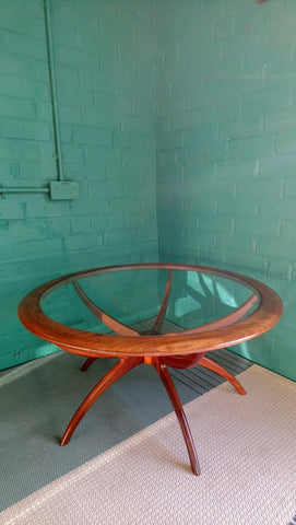 "Iconic Mid-Century G-Plan ""Spider"" Coffee Table by V B Wilkins 1960s"