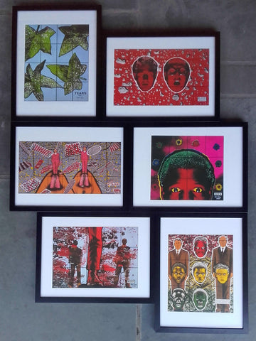 Framed Gilbert & George Small Posters sold individually (Published 1996)