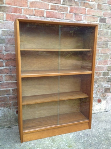 "1950s Herbert E Gibb ""Autographed"" Bookcase"