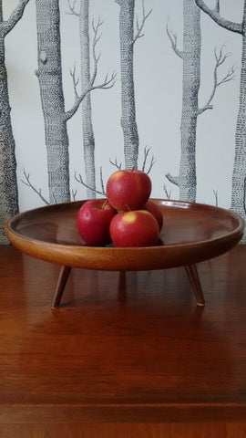 Stylish Teak Fruit Bowl