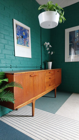 Elegant Jentique 6ft Sideboard in Teak