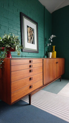Rare Mid-Century Danish Range Sideboard By Ib Kofod-Larsen For G-Plan 1960s