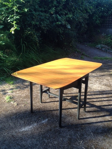 1950s / 60s Lebus G-Plan Style Drop Leaf Dining Table