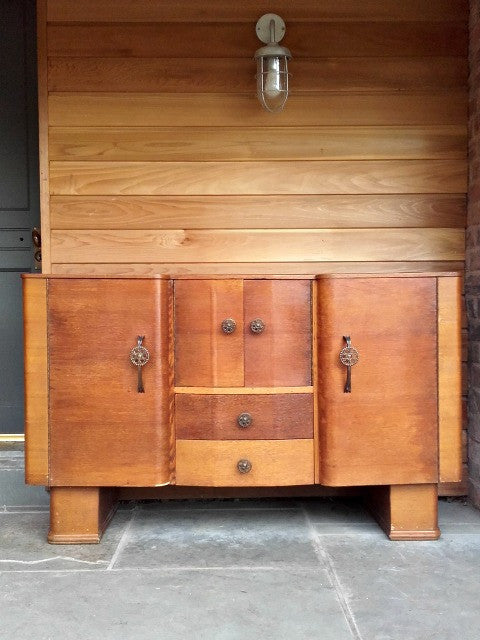 "Beautiful 1930s Art Deco ""Talent"" Sideboard by H Marshall & Co"