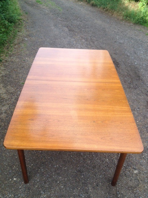 McIntosh Extending Dining Table with Oak top and Teak Frame