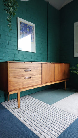 "Rare Nathan ""Corsican"" Sideboard With Great Handles"