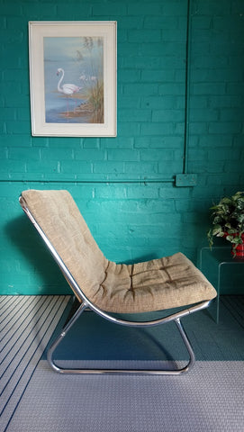 Classic Modernist 1970s Peter Hoyte Sling Chair (2 of 2)