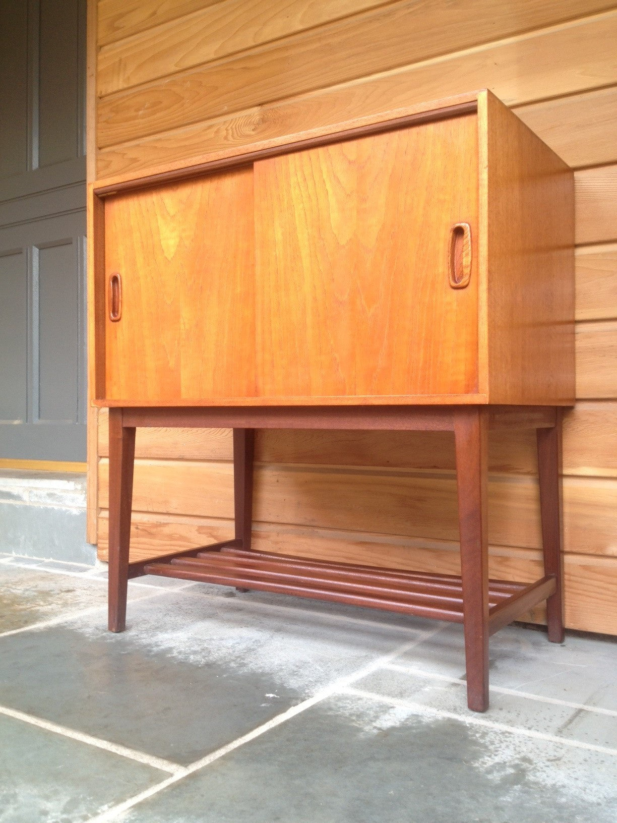 1960s Record Cabinet Record Cabinet To Va Va Voom Your Vinyl In Teak And Afromosia